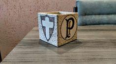 Trabalho realizado em pirografia, símbolos do Palmeiras!