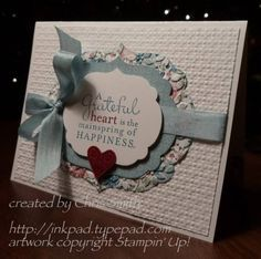 Framed card Stampin Up