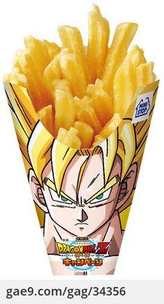 Dragon Ball French fries 초 감자튀김