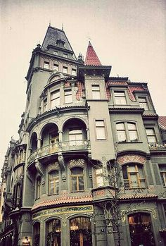 Victorian house..