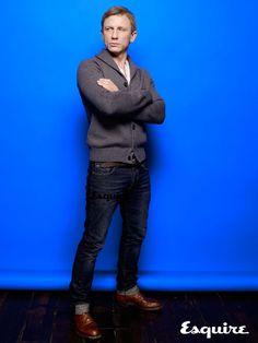 Daniel Craig ダニエル・クレイグ おしゃれ番長 ジーンズ似合うね