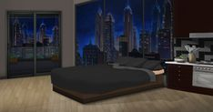 night google drive episode bedroom anime backgrounds interactive background office living int scenery wallpapers