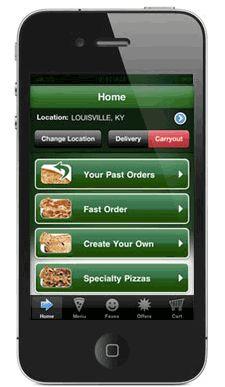 Papa John's Pizza Pre-Order App