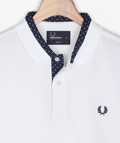 Fred Perry - Polka Dot Trim Shirt FW14/15 - Fred Perry