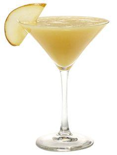 "The ""Slightly Sloshed"" Slushie   Pear vodka plus a few secret ingredients give this blended cocktail its signature slushie consistency."