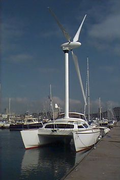 Windmill Sailboat: Sailing Against the Wind : TreeHugger