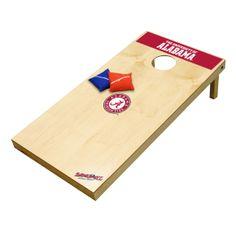 University of Alabama Crimson Tide Tailgate Toss XL Platinum Edition