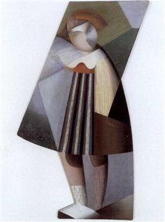 Marthe Donas (Belgian, 1885–1967) Title: POUPEE CUBISTE , 1919–1920