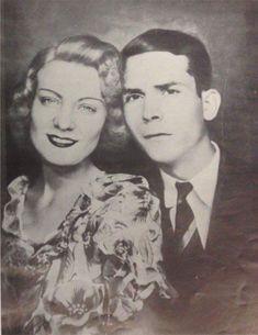 """hankwilliamsramblingman: """"Hank and Audrey Williams, 1945 """""""