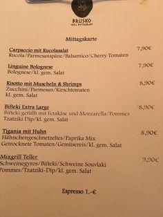 Unsere leckere Mittagskarte   Brusko Grill Restaurant  www.brusko.de #Brusko #Grill #Restaurant #Muenchen #Bar #Griechischesrestaurant #Cocktailbar #Grieche #Businesslunch #Schwabing #Mittagsmenu #bestplace #Eventlocation #Leopoldstrasse
