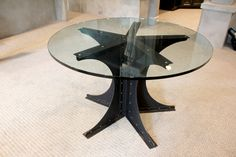 We build handcrafted furniture inspired by Architectural elements and Industrial machinery from the early century with Modern features for today's world. Modern Industrial Furniture, Industrial Home Design, Vintage Industrial, Game Room Tables, Build A Table, Architectural Elements, House Design, Design Homes, Custom Furniture