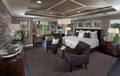 Everything's Included by Lennar, the leading homebuilder of new homes for sale in the nation's most desirable real estate markets. Master Bedroom Design, Home Decor Bedroom, Modern Bedroom, Bedroom Ideas, Master Bedrooms, Master Suite, Ryland Homes, Neutral Bedrooms, New House Plans