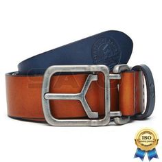 100% Genuine Authentic Royal Enfield Clothing -Coloured Leather Belt Size S M L