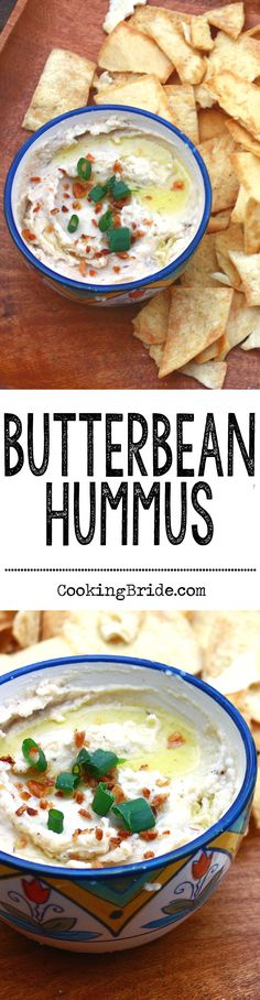 This recipe for butterbean hummus is a Southern spin on a Mediterranean favorite.