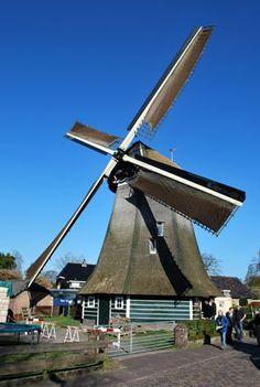 Flour mill De Korenmolen, Laren, the Netherlands.
