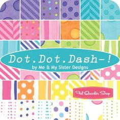Image result for dot dot dash jelly roll