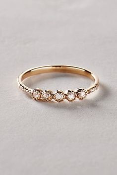 Rosecut Diamond Ring in 14k Gold