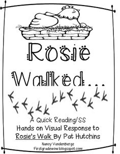 Understanding Community Through Rosies Walk and Me on the Map - First Grade Wow