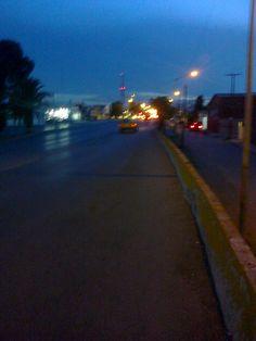Recorrido dos, equipo 4. Lo bueno, en el trayecto por Valdez Sanchez de Sendero al estadio Madero los automóviles procuraron la ruta del ciclista.