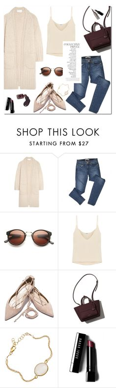 """Untitled #822"" by mjangirashvili ❤ liked on Polyvore featuring Chloé, J Brand, Totême, By Terry, Bobbi Brown Cosmetics and Chanel"