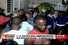 Piden Justicia civil para los policías que mataron al oficial y su esposa