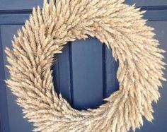 Dried Flower Wreath by NaturDesign on Etsy