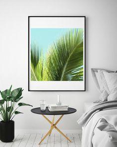 Etsy のTropical Plant Photo, Tropic Art, Palm Leave Wall Art, Green Palm leaf, Palm Leaf Print, Green Leaves Photography, Leaf Wall Art Print,(ショップ名:PrintableArtHarmony)