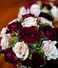 Vineyard-Themed Fall #Wedding Bridesmaid Bouquets