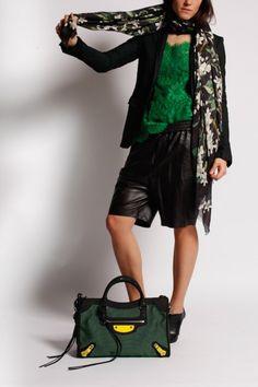 Top Dentelle Vert Dolce & Gabbana
