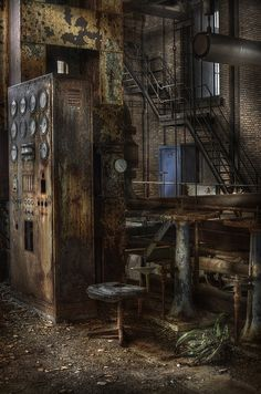 Abandoned power plant  ::  ( explore ) by andre govia.,