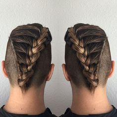 Braids With Fade