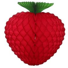 """8"""" Strawberry Tissue decoration  Party direct"""