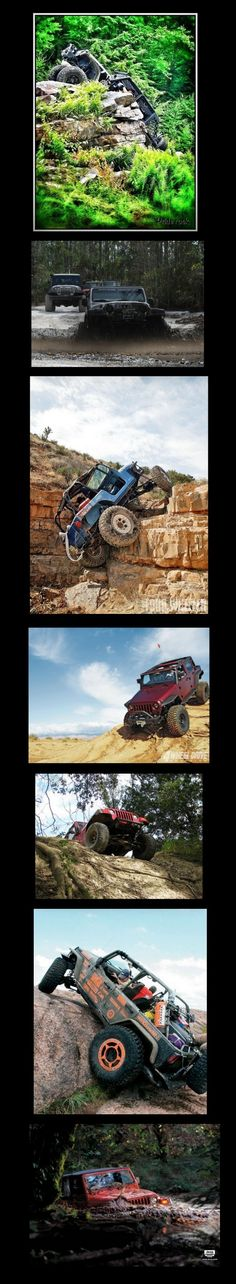 It's a Jeep Thing  These are pictures I gathered on Pinterest and combined for this series.