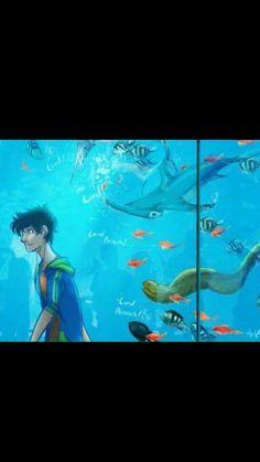 Percy Jackson and fish...