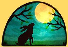 Tissue Paper Art, Easter 2021, Animal Silhouette, Shadow Puppets, Easter Celebration, Window Art, Dreamcatchers, Egg Hunt, Kite