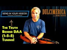"Dulcimerica with Bing Futch - Episode 373 - ""Intro To DAA Tuning"" - Mountain Dulcimer Dulcimer Tablature, Mountain Dulcimer, Episode Guide, Music Theory, Banjo, You Videos, How To Become, Instruments, Channel"