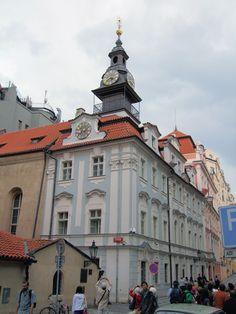 Česko, Praha - Židovská radnice