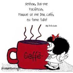 1,729 curtidas, 37 comentários - Conversa e Café (@conversaecafe1) no Instagram Mafalda Quotes, Coffee Pictures, Coffee Corner, I Love Coffee, Cafe Design, Vintage Coffee, Coffee Quotes, Herbal Tea, Humor