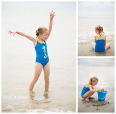First trip to the beach | Peanut Blossom