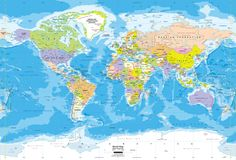 World topography map wall mural miller projection 24 burnham we have done a little bit of our island story already this year but we are starting ambleside year 1 in full force soon and i think i have my maps set gumiabroncs Choice Image