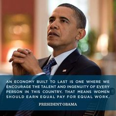 Thank you for standing up for us President Obama.