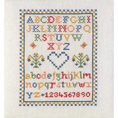 Traditional Cross Stitch Sampler Chart I Love Cross Stitch