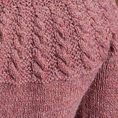 Unity - a top-down cabled pullover great for #knitters new to sweater-knitting! http://ift.tt/2alsgLC - - #knitting #knittersof #knittersofinstagram #knittersoftheworld #knitstagram #cables #FinishFreeKnits #interweavecraft #strikk #stricken #strikking #instastrikk