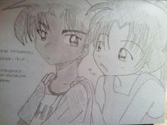 Heiji Hattori & Kazuha Toyama