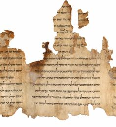 The Dead Sea Scrolls are a collection of 972 texts from the Hebrew Bible and extra-biblical documents found between 1947 and 1956 on the northwest shore of the Dead Sea, from which they derive their name.