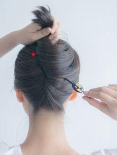 Hear Style, Hair Arrange, Ponytail, Braided Hairstyles, Jewerly, Hair Makeup, Braids, Kimono, Hair Color