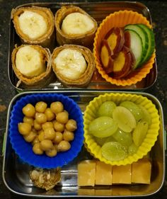 Bento for Baby 64:  Peanut Butter Banana Rolls