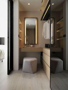 I've been spotting some fantastic DIY vanity mirror recently. Here are 17 ideas of DIY vanity mirror to beautify your room Diy Vanity Mirror, Diy Bathroom Vanity, White Bathroom, Bathroom Lighting, Bathroom Storage, Bathroom Mirrors, Mirror Makeover, Bathroom Cabinets, Vanity Lighting