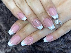#frenchnails #naturalnails French Nails, Natural Nails, Beauty, Nail Studio, Fairy, Nice Asses, French Tips, Beauty Illustration, Natural Looking Nails