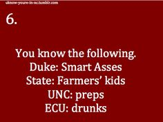 You are def from NC when...